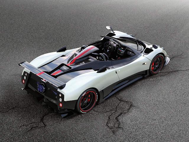 Pagani Zonda Cinque Roadster - Danh sách những siêu xe đắt nhất thế giới
