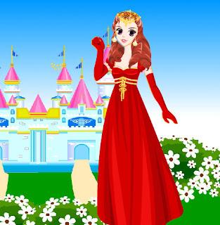 Juego de moda de la princesa Edeline