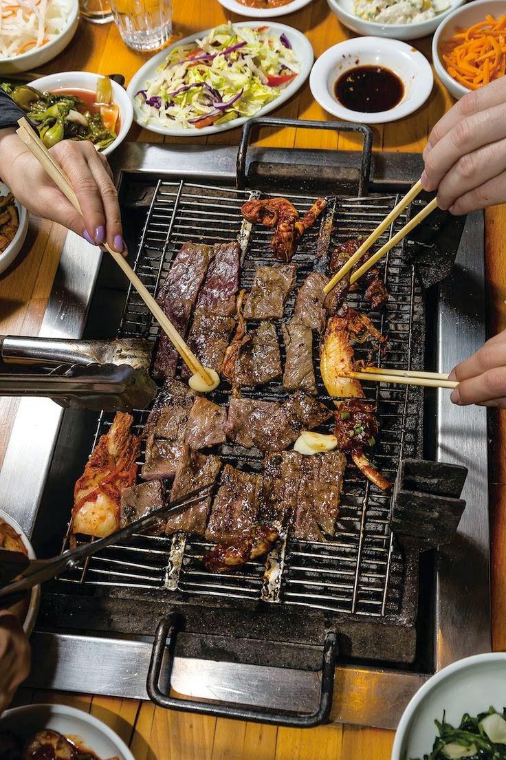 KOREAN BBQ class