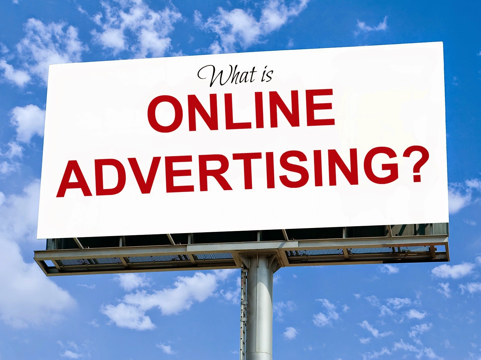 online advertising Online advertising, also called online marketing or internet advertising or web advertising, is a form of marketing and advertising which uses the internet to deliver promotional marketing messages to consumers.