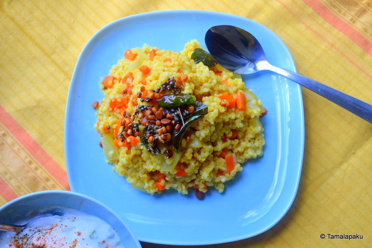 Vegetable Cracked Wheat
