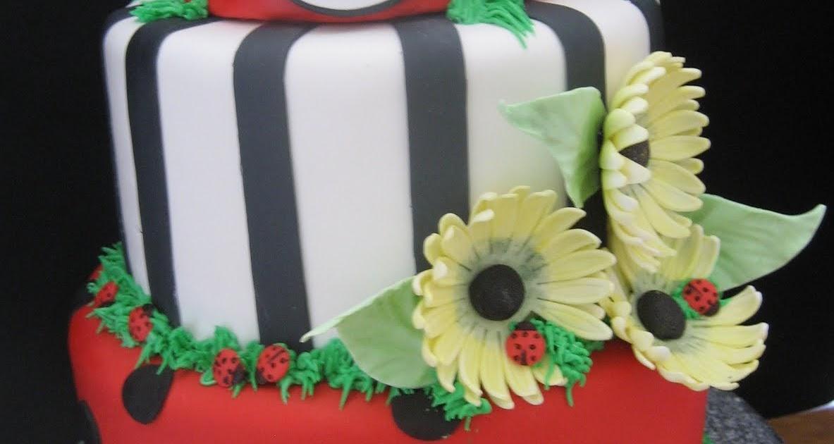 Desserts by Dawn: Lady Bug cake