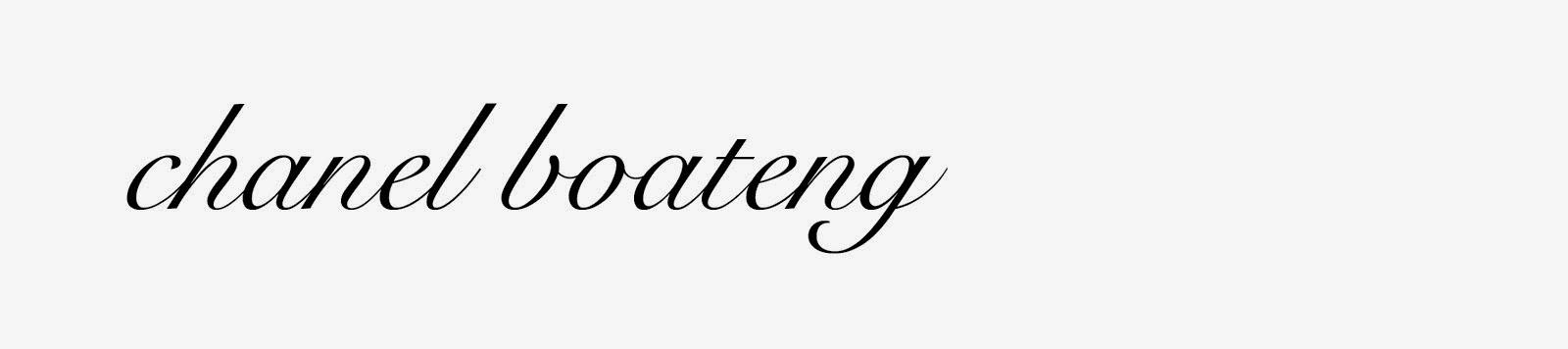 Chanel Boateng
