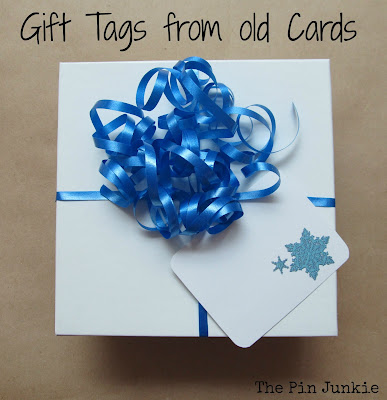 uses for old Christmas cards