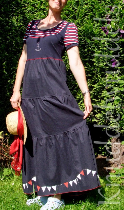 Kleid aus Malina (KiBaDoo, Frau Liebstes)