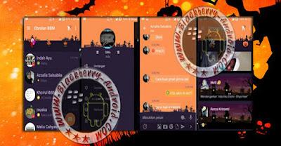 BBM Mod Unik Bejo Tema Halloween New v2.10.0.35 Apk