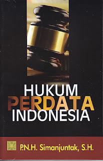 Hukum Perdata oleh  P.N.H. Simanjuntak, SH
