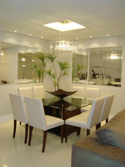 Lustre Para Sala De Estar Quadrado ~ Arquitetura Feminina Iluminação Sala de Jantar  Lustre e Pendente