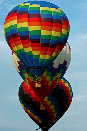 Cool Picture Collection Multi Colored Hot Air Balloon