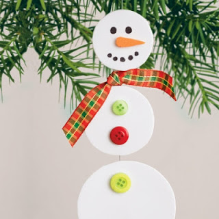 Snowman ornament from Spoonful