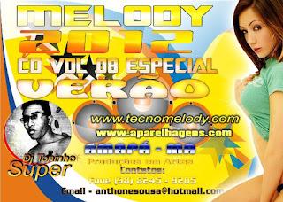 CD Mixado Dj Toninho Super 2012 Vol.08