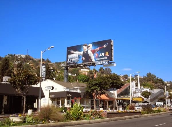 Bonnie & Clyde billboard