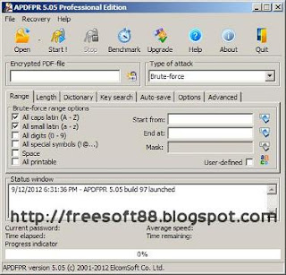Advanced PDF Password Recovery Professional v5.05.97 Incl Serial