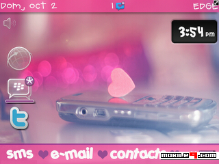 I Love My BB Download Tema BlackBerry 8520 Gratis 2012