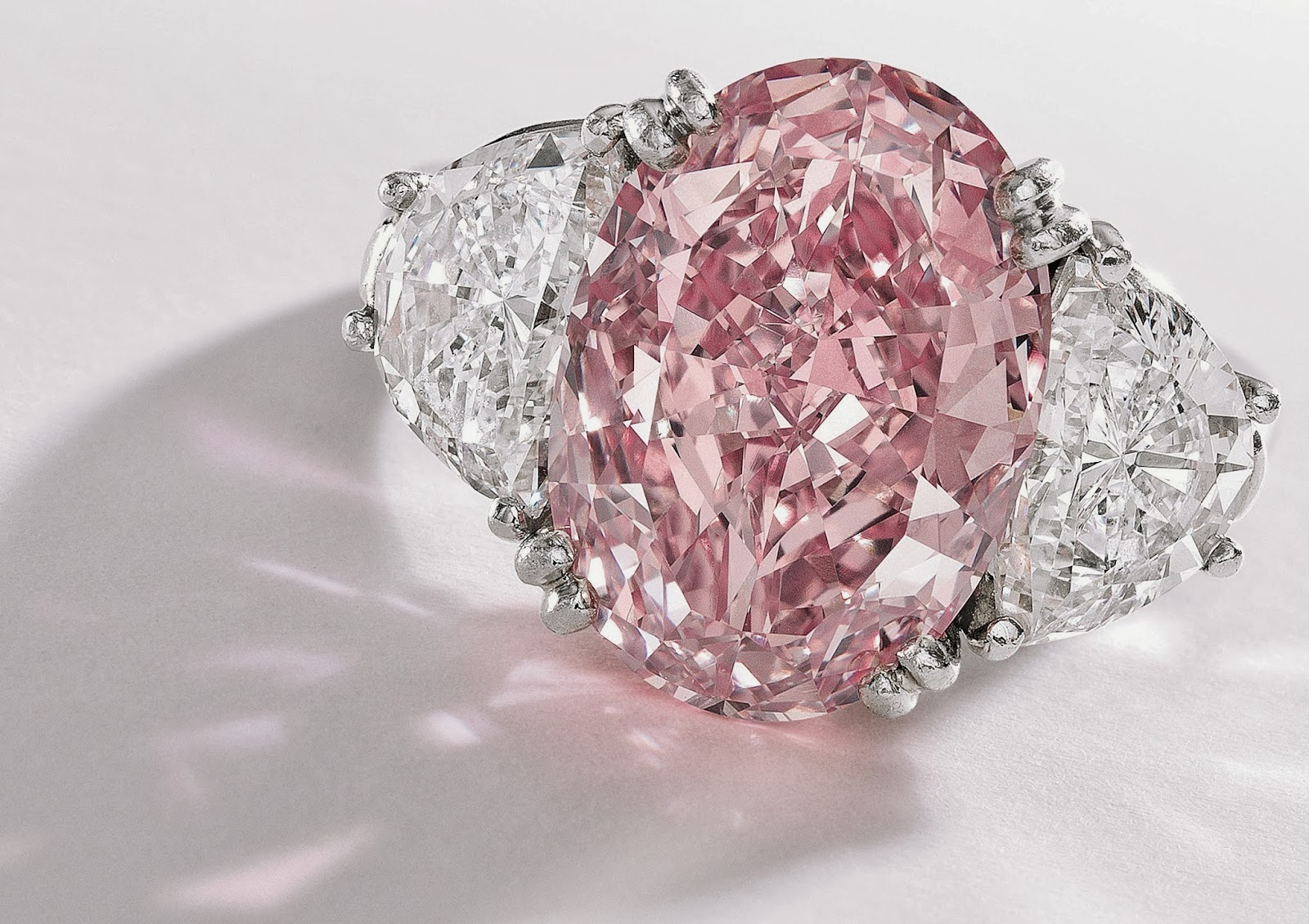 Pink Diamond Fashion Rings Pink Diamond Rings