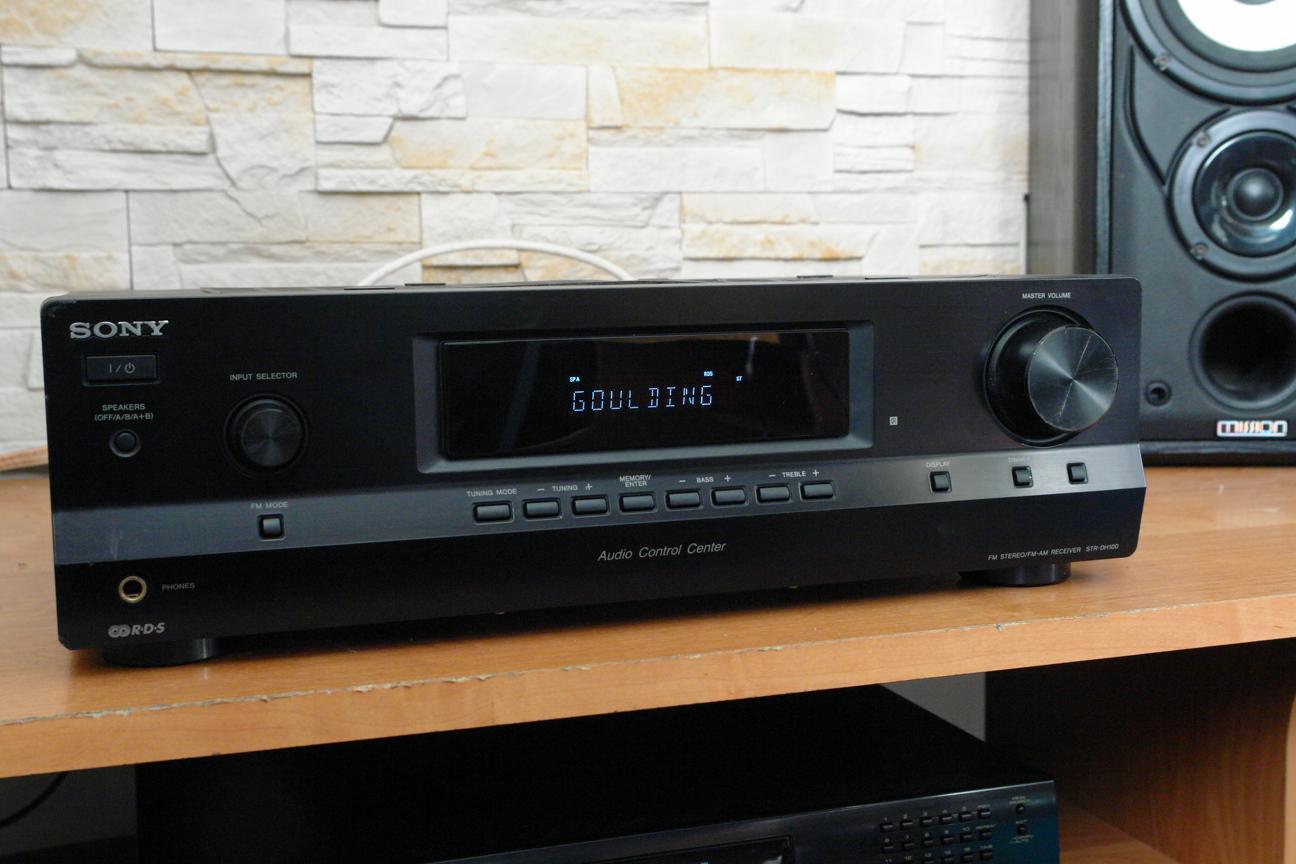 sony str dh100 stereo receiver audiobaza rh audiobaza blogspot com sony str-dh100 specifications sony str-dh100 service manual