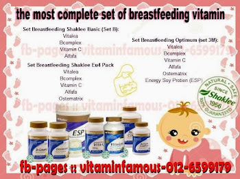 Shaklee Breasfeeding Set