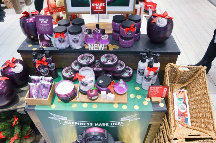 The Body Shop Christmas Collection 2015 Launch