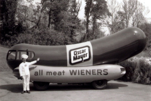 Man Who Wrote Popular Oscar Mayer Wiener Jingle Dies in addition Oscar Mayer Wiener besides How Lunch Became Full Of Bologna further Slightly True Stories Of The Week likewise Wienermobile Miles Of Smiles. on oscar mayer commercial jingle