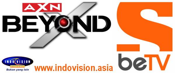 Channel AXN Beyond berubah menjadi beTV mulai 12 April 2012.