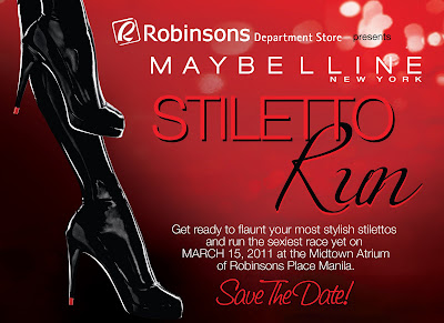 Maybelline Stiletto Run invitation