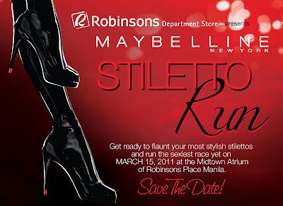Maybelline Stiletto Run Robinsons Place Manila