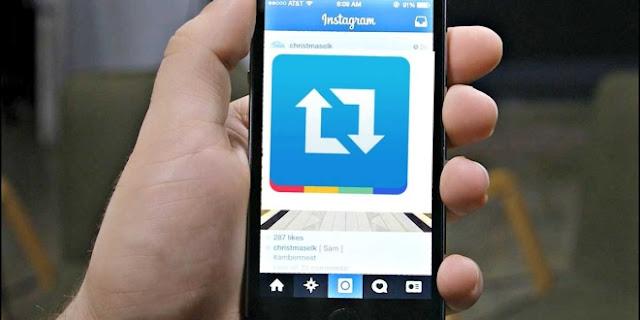 تطبيق Repost for Instagram لإعادة مشاركة صور انستقرام
