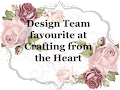 6 x Crafting From The Heart DT Favourite