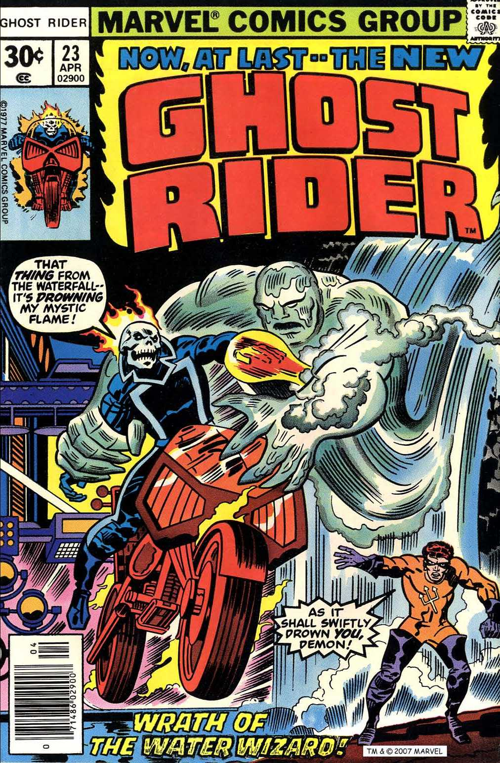 Ghost Rider (1973) Issue #23 #23 - English 1