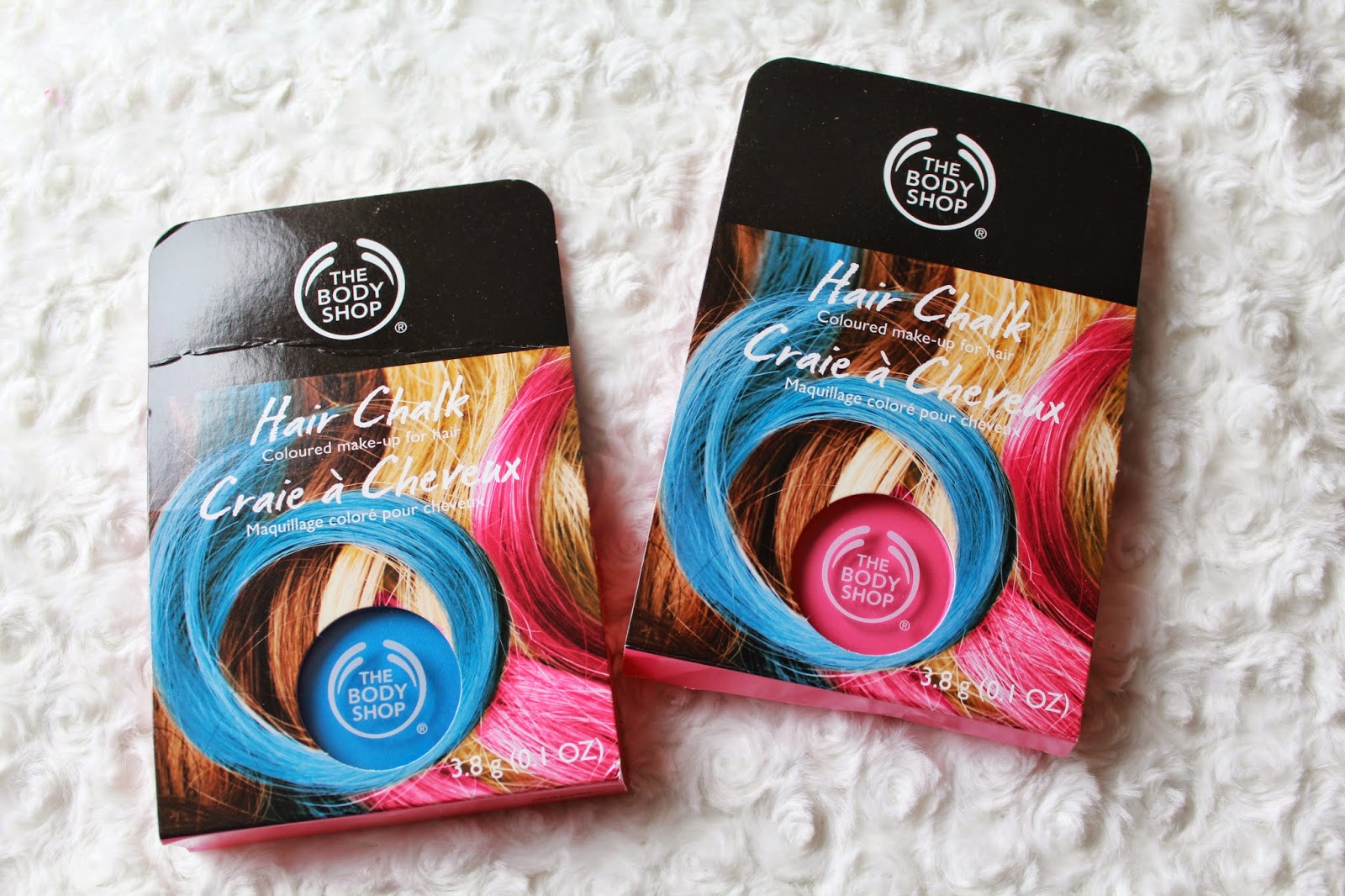 Hair Chalks at The Body Shop