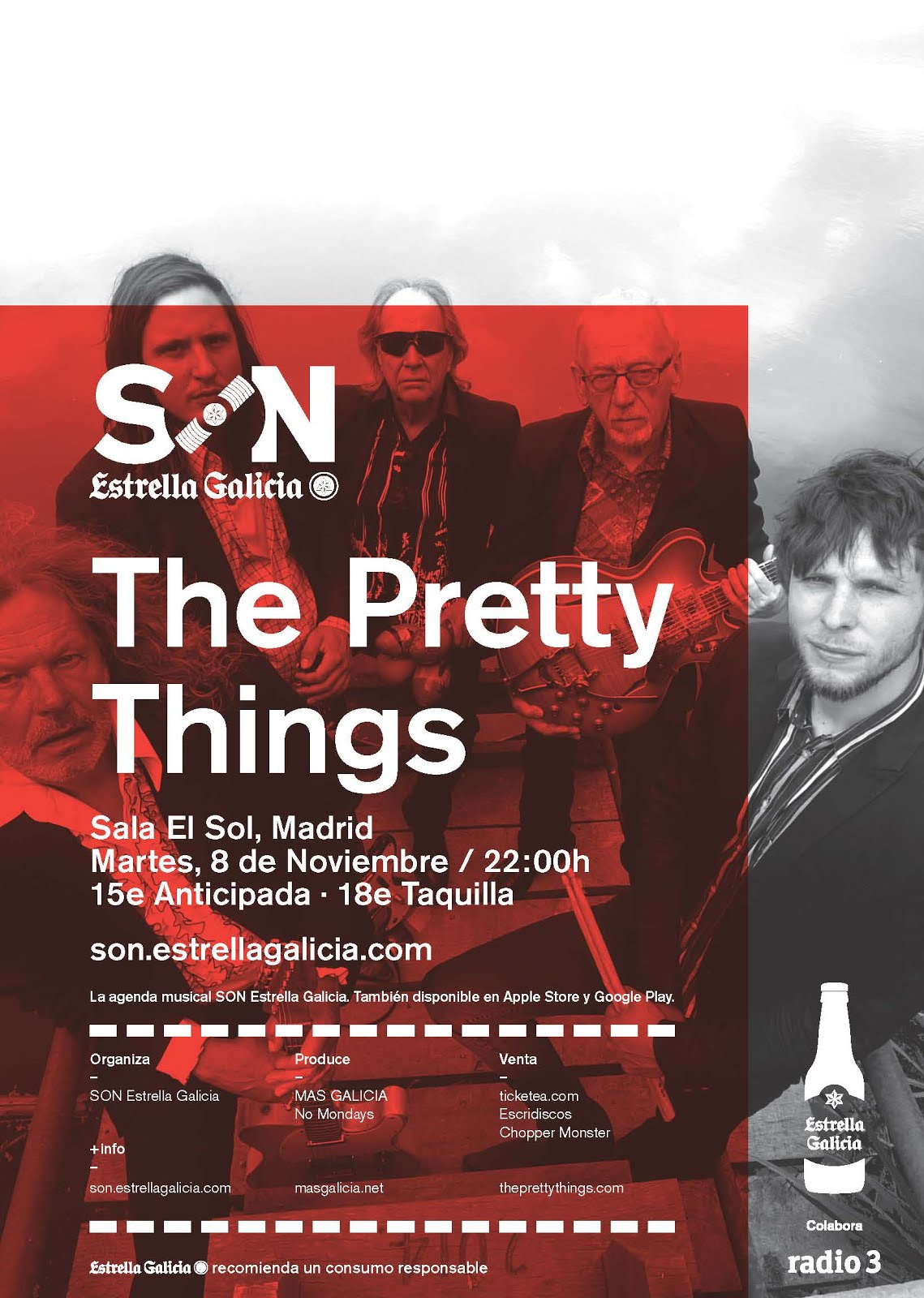 The Pretty Things - El Sol - 08/11/2016