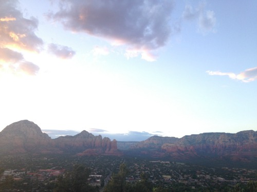 Sedona Airport Sunset