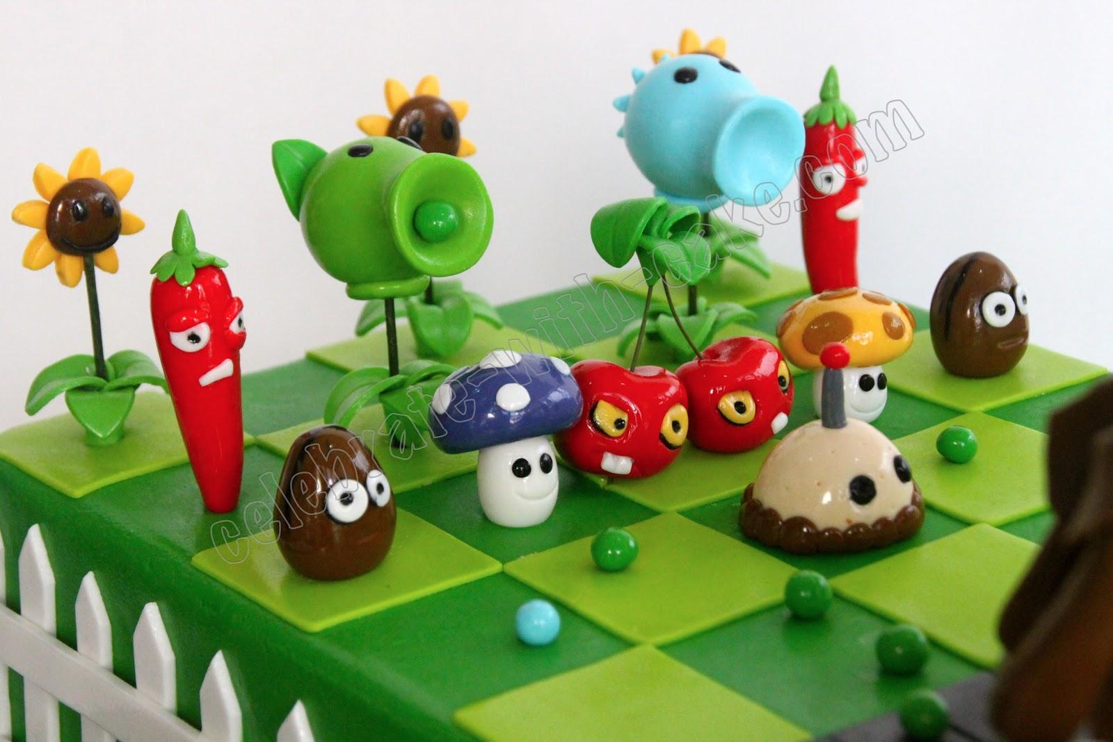 Plants Vs. Zombies Cake Supplies