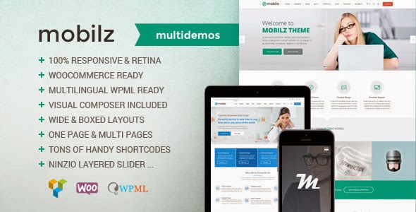 download Mobilz - Responsive Multi-Purpose Theme