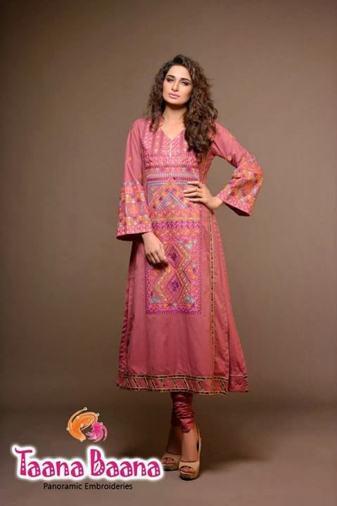 Taana Baana Winter Collection 2014-15 | Exclusive Winter Dresses by ...