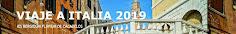 BLOG VIAJE ITALIA 2019