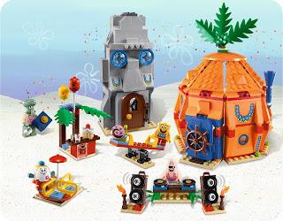 Good LEGO SpongeBob Bikini Bottom Undersea Party Playset
