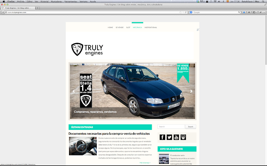 Web de Truly Engines