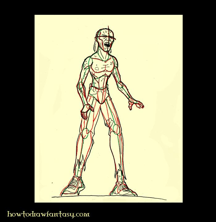 Apprendre dessiner bd - Comment dessiner un zombie ...