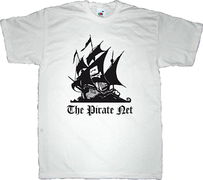 the pirate bay p2p peer to peer freedom useless Politics useless patents useless lawsuits useless copyright t-shirt ephemeral-t-shirts