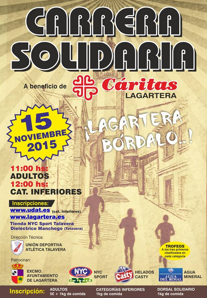 Carrera Solidaria de Lagartera