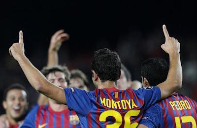Barcelona 4 - 0 BATE Borisov (1)