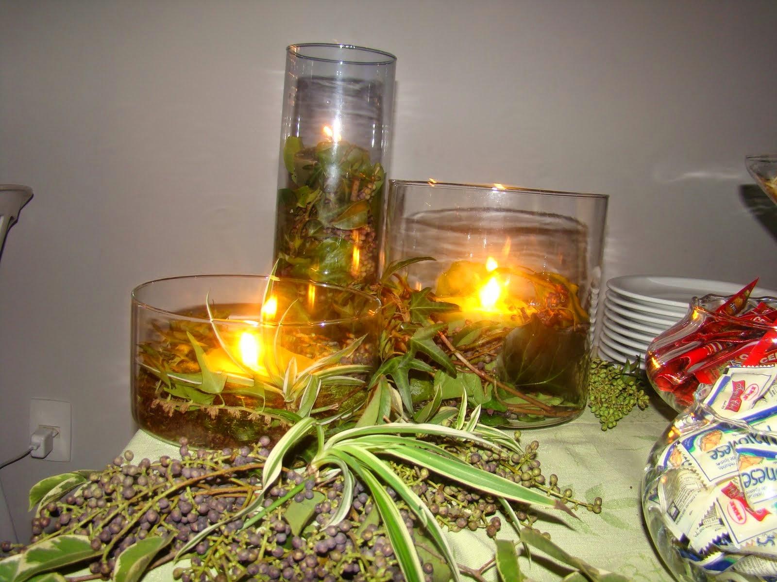 Festa verde+velas