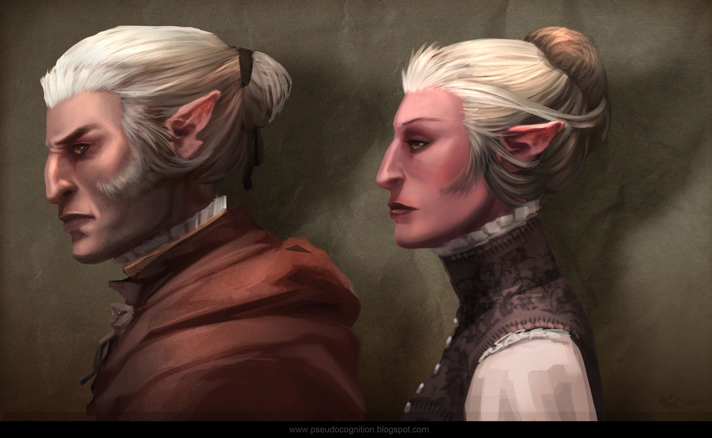 Elvish People Art of Lindsey Laney: ...