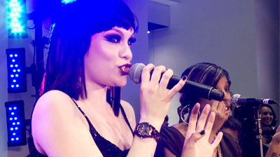 Jessie J, chi-ching GUESS store opening in New York, April 2011.
