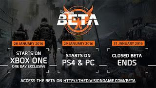 Στις 28 Ιανουαρίου η beta του The Division