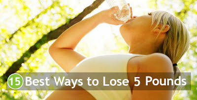 15 Best Ways to Lose 5 Pounds
