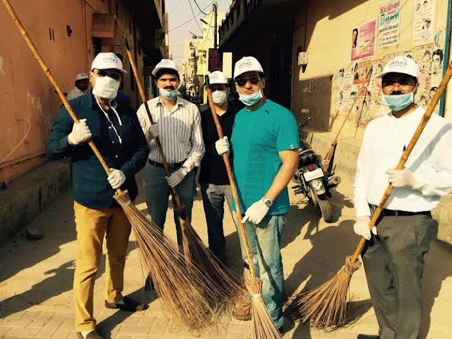 Paras Hospitals joins Cleanliness Drive in Gurgaon