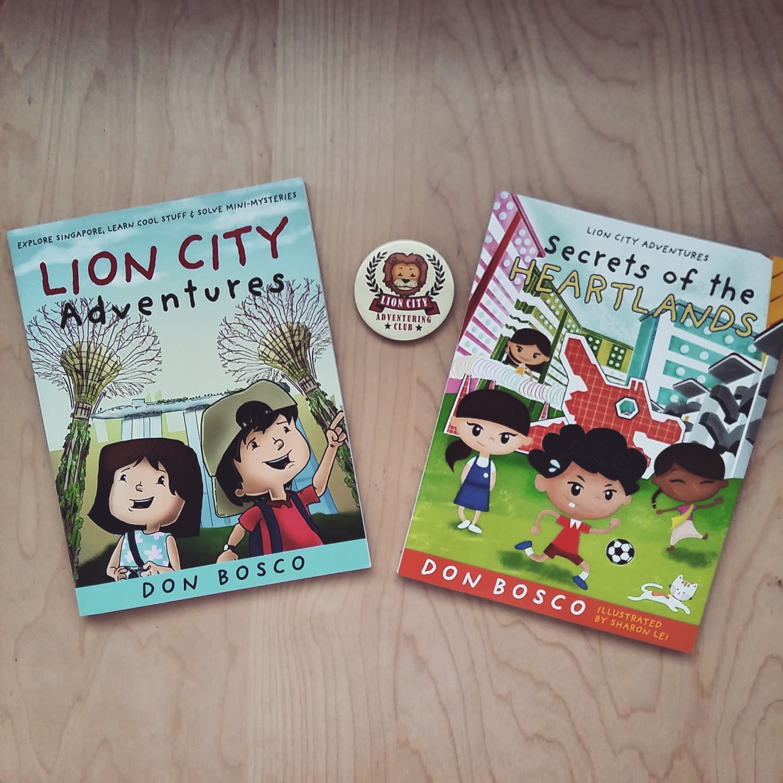The Lion City Adventuring Club Organised A Party At Kinokuniya Jurong Store To Celebrate Launch Of Award Winning LION CITY ADVENTURES Book