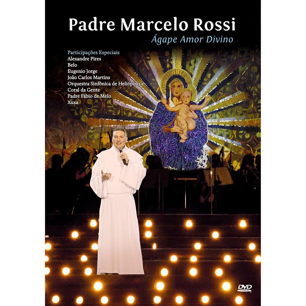 Dvd Padre Marcelo Rossi - Agape Amor Divino